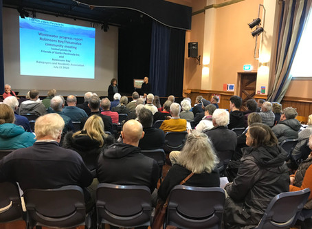 Large turnout for Community Meetings – Akaroa Wastewater proposal