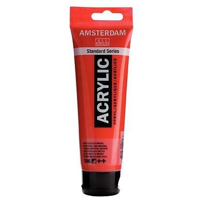 Amsterdam Acrylic Paint 120ml Napthol Red Medium
