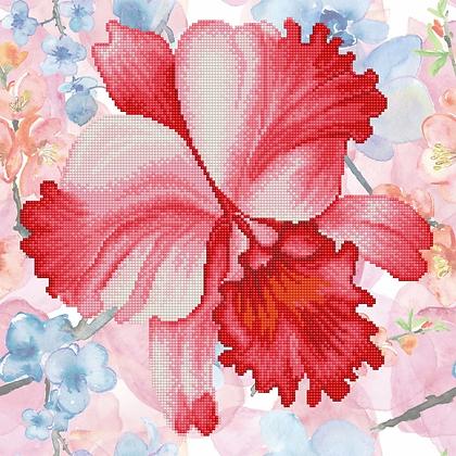 Diamond Dotz Sparkle Garden Crimson