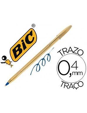 ΒIC Στυλό Cristal Shine Gold
