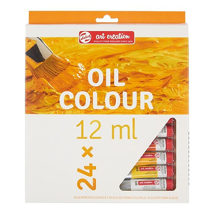 Oil Colour Set 24 Colours