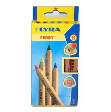 LYRA Ferby 6 Colouring Pencils