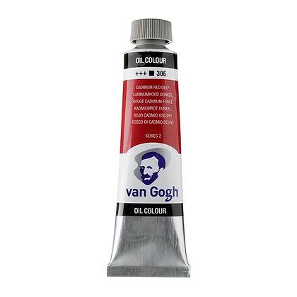 Van Gogh Oil Colour 40 ml Cadmium Red Deep 306