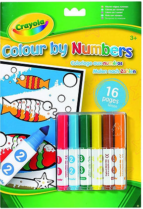 CRAYOLA COLOR BY NUMBERS