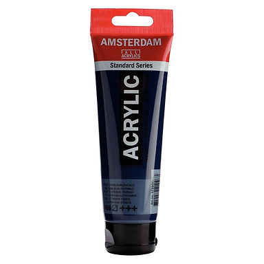 Amsterdam Acrylic Paint 120ml Prussian BlueBlue