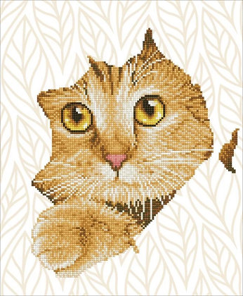 Diamond Dotz Kitten Peek