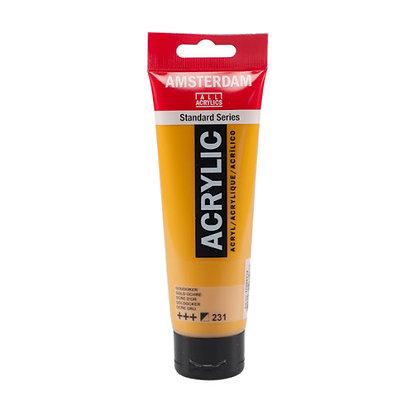 Amsterdam Acrylic Paint 120ml Gold Ochre 231