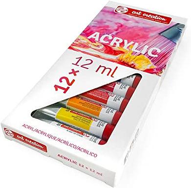 Acrylic Colour set 12 colours