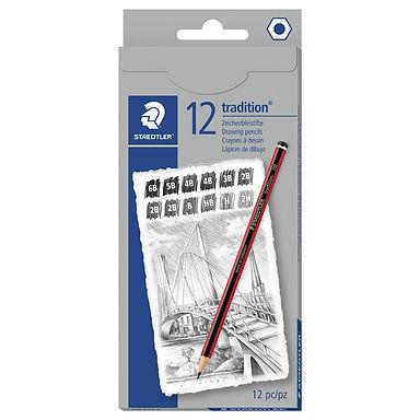 12 Μολύβια Ζωγραφικής / Tradition Graphite Pencils Assorted Grades 12 P