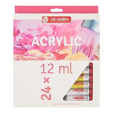 Acrylic Colour Set 24 Colours