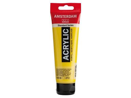 Amsterdam Acrylic Paint 120ml Transp. Yellow Medium