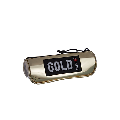 CITY PENCIL CASE TRENDY GOLD ECLAIR LIMITED (CL22399)