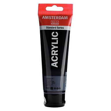 Amsterdam Acrylic 120 ml Lamp Black