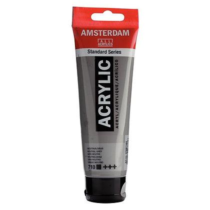 Amsterdam Acrylic Paint 120ml Neutral Grey
