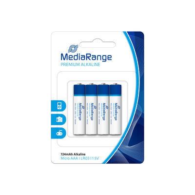 MediaRange Premium LR03 Alkaline AAA Micro battery 1.5 V 4-pack