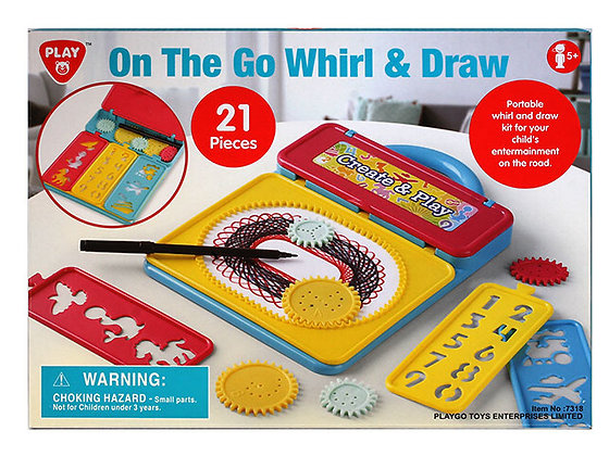 PLAYGO ON THE GO WHIRL + DRAW