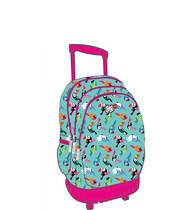 ONE LYC TROLLEY BAG PARROTS (LO01347)