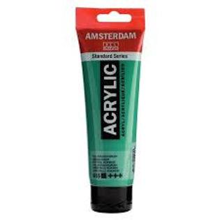 Amsterdam Acrylic Paint 120ml Emerald Green