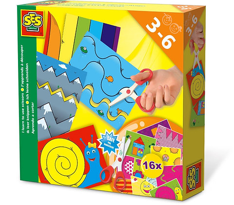 SES I Learn to Use Scissors Playset ( 3-6 year olds )