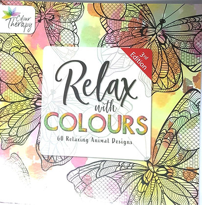 RELAX WITH COLOURS ANIMAL DESIGNS 1