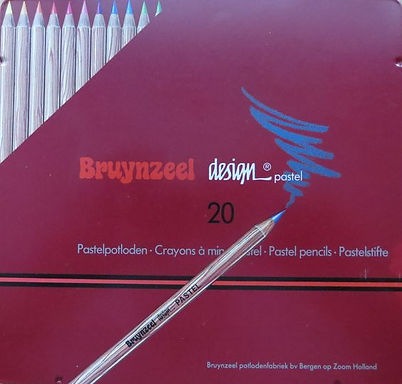 Bruynzeel design pastel pencils (20 pastel pencils)