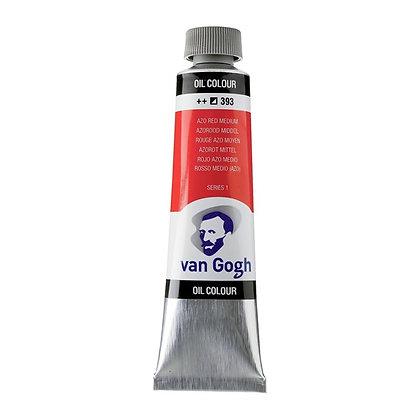 Van Gogh Oil Colour 40 ml Azo Red Medium 393