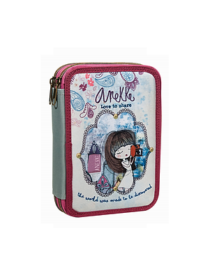 ANEKKE LOVE TO SHARE PENCIL CASE (346-97100)
