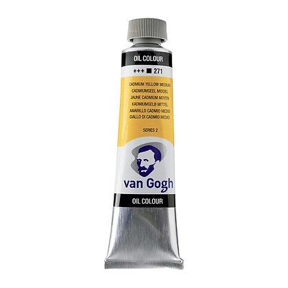 Van Gogh Oil Colour 40 ml Cadmium Yellow Medium 271