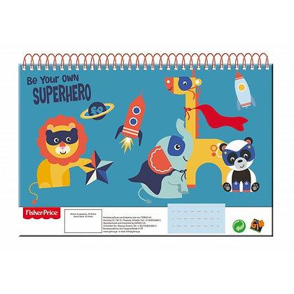 Fisher-Price Sketch Book Ζωγραφικής για παιδιά (30 σελ.)