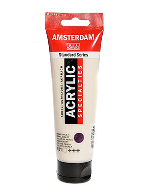 Amsterdam Acrylic Paint 120ml Metallic Silver