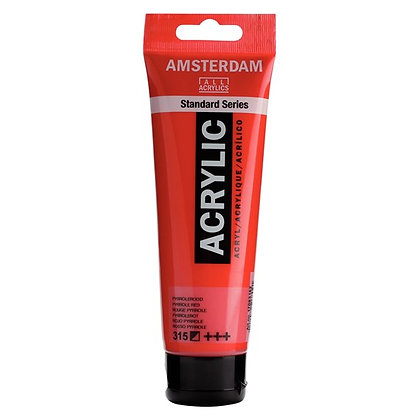 Amsterdam Acrylic Paint 120ml Pyrrole Red