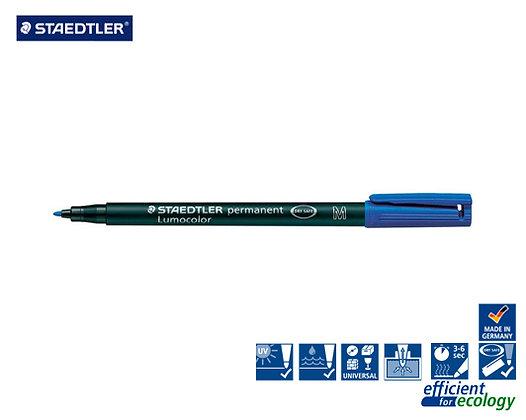 Staedtler Lumocolor permanent M DRY SAFE Blue