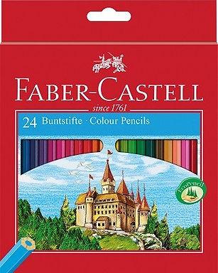 24 Χρωματιστά Faber-Castell