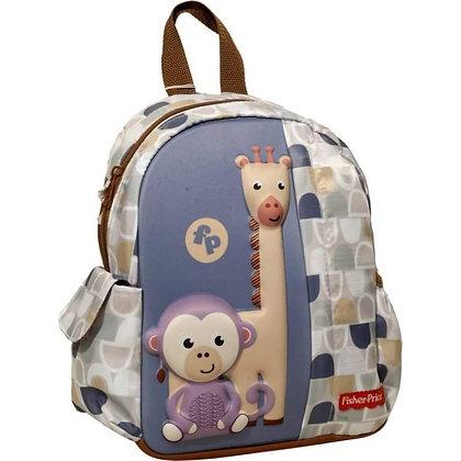 Giraffe And Monkey Junior Kindergarten Backpack / FISHER-PRICE