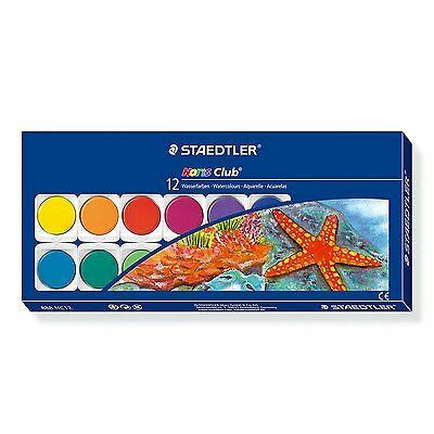 Staedtler Noris Club - Watercolour Paint Box of 12 Colours