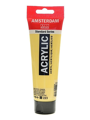 Amsterdam Acrylic Paint 120ml Naples Yellow Deep 223