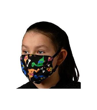 Βαμβακερή μάσκα με Δεινόσαυρους