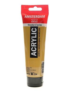 Amsterdam Acrylic Paint 120ml Metallic Deep Gold