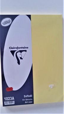 Α4 Χαρτί 160 gr Kίτρινο Aπαλό / A4 160gr Daffodil color