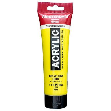 Amsterdam Acrylic Paint 120ml Azo Yellow Light