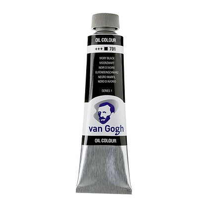 Van Gogh Oil Colour 40 ml Ivory Black 701