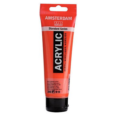 Amsterdam Acrylic Paint 120ml Naphthol Red Light