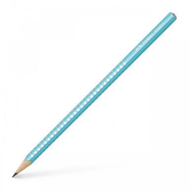 Μολύβι Faber Castell grip sparkle Τιρκουάζ