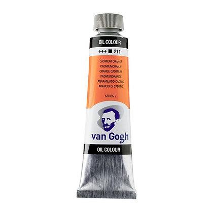 Van Gogh Oil Colour 40 ml Cadmium Orange 211