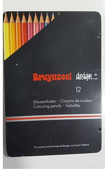 Bruynzeel design- 12 Colouring Pencils