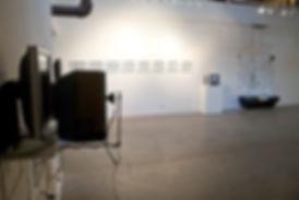 Kyle Evans, 000000, Installation at Pump Projects, Austin texas, new media art