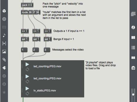 MIDI Video Trigger