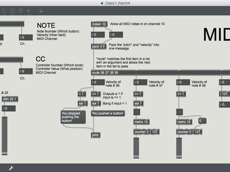 MIDI: Note and CC
