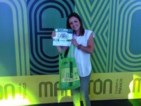 Mi travesía en el Maratón de la Ciudad de México, corriendo con diabetes en Mi Sweet Sweet Marathon.