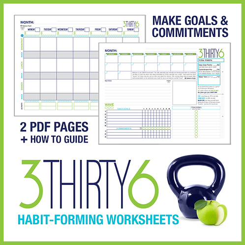 3THIRTY6 Habit-Forming Worksheet